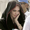 Angelina Jolie hits American Church