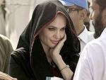 Angelina Jolie hits American Church