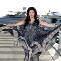 Sushmita Sen With Crescent Lawn 2011