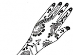 Latest Henna Designs on Paper