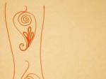 Leg Mehndi Designs on Paper