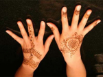 Latest Fancy Mehndi Design For EID 2011