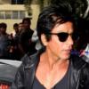 Shahrukh Khan held at Mumbai Airport