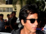 Shahrukh Khan held at Mumbai Airport