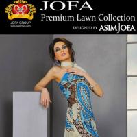 Premium Lawn Collection 2012, by Asim Jofa