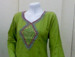 Maria Noor Stylish Cotton Kurties for Girls 2012