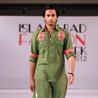 Islamabad Fashion Week 2012, Munib Nawaz Collection
