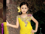 Beautiful Anarkali Kids Frocks Collection 2012