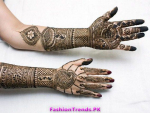 Latest Bridal Mehndi Designs for Girls 2012