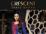 Faraz Mannan Crescent Lawn Latest Eid Collection 2012
