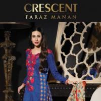 Faraz Mannan Crescent Lawn Latest Eid Collection 2012