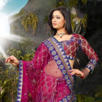 Sarees and Lehenga Collection 2012 of Natasha Couture With Shweta Tiwari