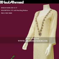 Gul Ahmed G – Woman Range of Shirts 2012