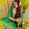 Pakistani Latest Multi Color Bridal Mehndi Dresses 2012