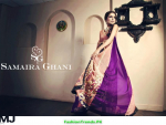 Samaira Ghani Latest Formal Wear Dresses 2012