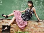 Sarah Gandapur Semi-Formal Women Dresses 2012