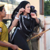 Veena Malik Arrested in Hyderabad India