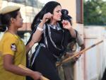 Veena Malik Arrested in Hyderabad India