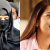 Indian Super star Juhi Chawla Visits Karachi Markets In Burqa