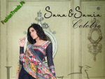 Lala Textiles Offers Sana Samia Magnifique Collection 2013
