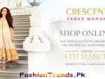 Faraz Manan Crescent Lawn Collection 2013