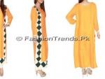 Kolaaj Spring Basant Girls Collection 2013