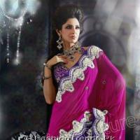 Natasha Couture Lehenga Sarees Girls Collection 2013