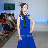London Fashion Week 2013 Gul Ahmed Collection