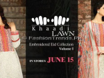 Khaadi Lawn Embroidered Eid 2013 Collection