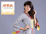Amna Creations Women Eid Dresses 2013