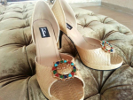 Farah & Fatima Bakra Eid Fall Vol 2 Sandals Collection 2013