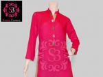 S3 Haute Couture Designer Wear Dresses 2013 Mid Summer Print
