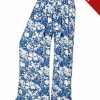 Urban Culture Palazzo Printed Blue Multi design