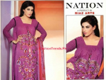 Nation by Riaz Arts Winter Designs 2013 For Women