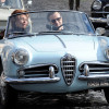 Daniel Day Lewis luxury car Alfa Romeo Giulietta Spider pics