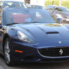 Djimon Hounsou & Kimora Lee Simmons Ferrari California luxury car photos