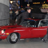 Jason Statham & Jason Flemyng luxury car Jaguar E-Type pics