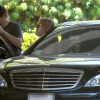 Kate Hudson & Matt Bellamy luxury car Mercedes-Benz S-Class photos