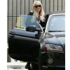 Lindsay Lohan luxury car Audi A5 Convertible pictures
