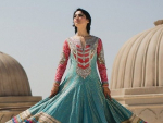 Pakistani Full Sleeve Wedding Dresses 2014