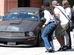 Sean Penn Modified Mustang luxury car photos`