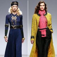 New York Fashion Week 2014 Models Catwalk on Ramp