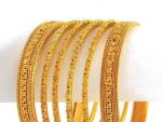 Latest Women Gold Bangle Designs