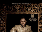 M By Salman Shah Men Sherwani Designs 2014
