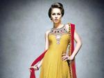 Pakistani Mayon Dresses For Wedding 2014