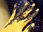 Romantic Mehndi Designs for Valentine Day 2014