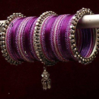 Latest Designs of Women Glass Bangles