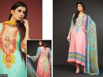 Moon Textile Batik Lawn Dresses 2014