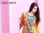 Zahra Ahmad Women Lawn Dresses 2014