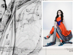 Aeisha Varsey Premium Lawn Eid Dresses 2014 For Girls